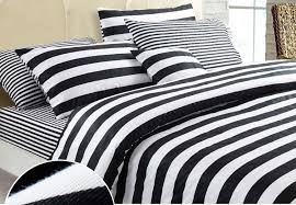 remarkable black and white horizontal striped bedding 80 for bohemian duvet covers with black and white horizontal striped bedding