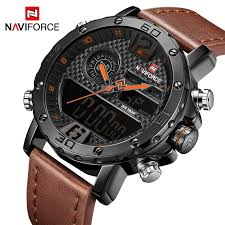 Mens Watches To <b>Luxury Brand Men</b> Leather Sports Watches ...