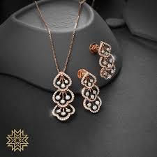 Diamond Gold Locket Designs Irresistable Gold Dimond Pendant Sets For Minimal