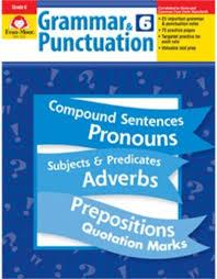 Grammar Punctuation Grammar Punctuation Grade 6