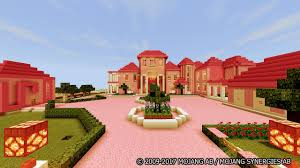 A cute pink house, room pink and bathroom pink to improve your minecraft kawaii world! The Pink House Map For Minecraft For Android Apk Download