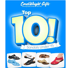 check out our top 10 sandals under 15 carolwrightgifts fac s top 10 sandals pic twitter sqlekpwwum