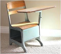 Wooden school desk and chair Double Childrens School Desk Old School Desk Chair Attached School Desk With Attached Chair Luxetimepiecesco Childrens School Desk Desk School Desk And Chair Wooden School