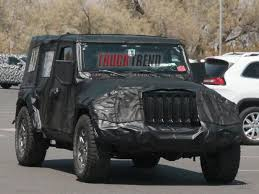 2018 jeep bronco. contemporary 2018 2018 jeep wrangler jl inches closer to production with jeep bronco