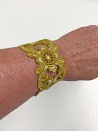 Machine Embroidery Jewelry Designs Freestanding Lace Bracelets With Machine Embroidery Weallsew
