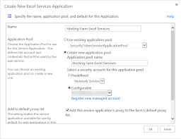 excel service how to configure excel services in sharepoint 2013 step by step