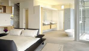 Elegant Bedroom Bathrooms Are Often Minimalistic In Design, And Look Best When Kept  Tidy And Uncluttered. If Well Designed, The Close Proximity Can Make The ...