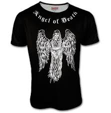 Rebellious One Size Chart Angel Of Death And Justice For All By Rebellious Bastards Mens T Shirt