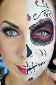 maquillage squelette mexicain l art du candy skull