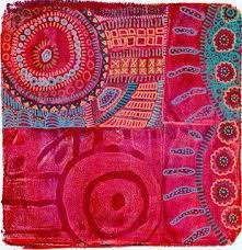 Gelli plus magic stamps plus stitchery = <b>wow</b>! | Plate <b>art</b>, Prints ...