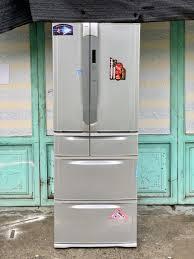 Tủ lạnh cũ Toshiba 6 cánh GR-W45FT 445 lít năm 2008