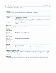 Mac Pages Resume Templates Fresh Awesome Apple Pages Resume