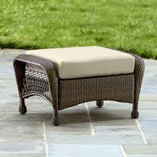 Round Outdoor Ottoman Cushion Cube Storage faedaworks