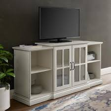 antique white tv stands living room