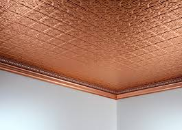 copper ceiling tiles traditional themes