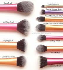 real techniques brushes expert makeup tools set of 4