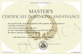 master in finance master s certificate in banking and finance