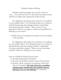 problem solution essay examples okl mindsprout co problem solution essay examples