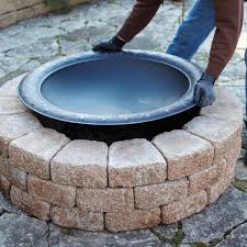 beautiful fire pit insert pits in round wood burning kit pertaining to 8 wood burning