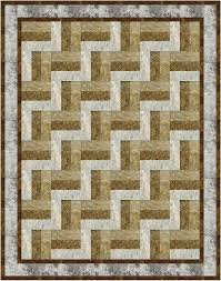 The 42 best images about 5 yard quilts on Pinterest | Fat quarters ... & 5-yard Rail Fence pattern - how simple and yet striking! Adamdwight.com