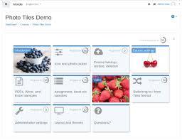 Moodle Plugins Directory Tiles Format