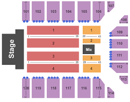 Reno Rodeo Seating Chart Reno Events Center Tickets Reno Nv Ticketsmarter