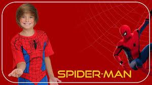 the spiderman photo frames arth app 0