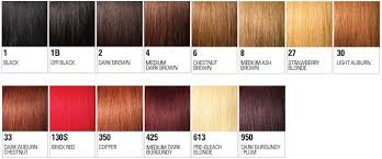 350 Hair Color Chart Color Chart For Outre Wigs In 2019 Color Your Hair Hair
