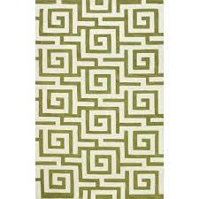 green and white area rug optics key lime black green and white area rug