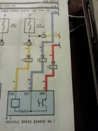 wiring diagram for vehicle speed sensor 2 wire and 3 speed sensor sender club lexus forums continuation of the 3 wires on