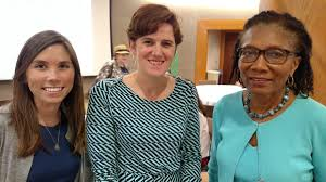 """BCHN on Twitter: """"Anne Karl from @manatt and Lacey Clarke from @CHCANYS  with BCHN CEO Eleanor Larrier.… """""""