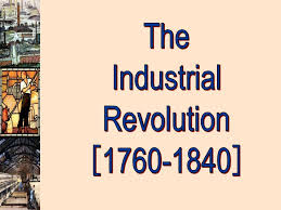 the industrial revolution presentation