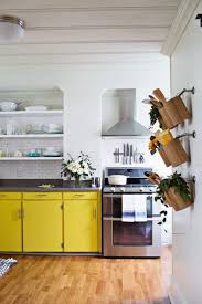 Yellow Kitchen Floor 15 Bright Yellow Kitchens That Will Make You Smile Brit Co