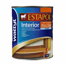 Wattyl Stain Colour Chart Nz Estapol Interior Water Based Xtra Clear Gloss 1 Litre