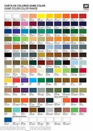 Details About Vallejo Game Color Full Range Of 128 X 17ml Fantasy Wargaming Paints All Aux
