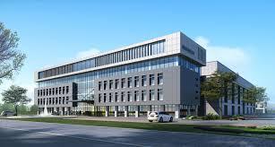 Exterior Office Building Scene 3d Model Max Tga 1 CGTrader