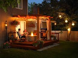 my summer project glamorizing the pergola hanging baskets lights flowers best on cool looking hanging string patio pergola lights