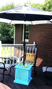 small patio set outdoor side table umbrella stand mom in