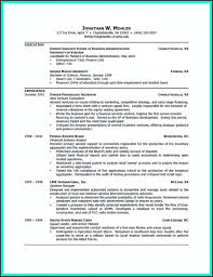 College Students Resume Format New Resume Templates High School