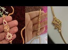 mangalsutra chain side lockets designs