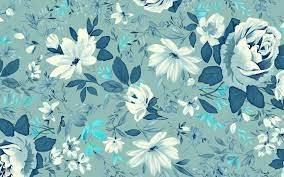 Desktop Wallpaper Blue Flowers