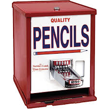 Pen Vending Machine Classy Pencil Dispenser Vending Machine Demco