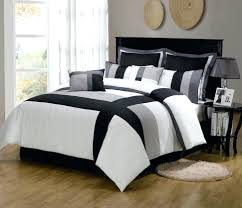 gray and white comforter grey striped black sets queen marisol yellow