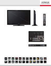 hitachi flat screen tv. hitachi l55s603 flat panel television user manual screen tv