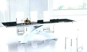 extendable glass dining table createdayco