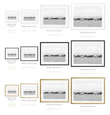 Print Size Chart Kt Merry Fine Art Print Shop Dusty Sky