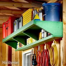 Double Decker Garage Storage Shelves