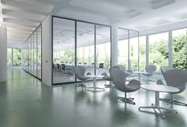 home office glass partition walls
