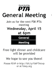 Pta Elections Flyer Pta Meeting Flyer Jonnykrysh