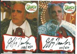 jeffrey tambor grinch. Contemporary Tambor I Just Picked Up Four Autographs From The Set Two Christine Baranski And  Jeffrey Tambor Tambor Played Mayor Augustus Maywho  Throughout Grinch 9